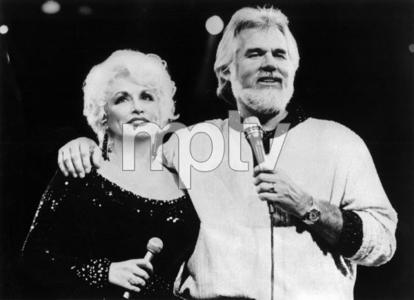 """Kenny Rogers and Dolly Parton Together""Kenny Rogers, Dolly Parton1985** I.V.M. - Image 10575_0070"