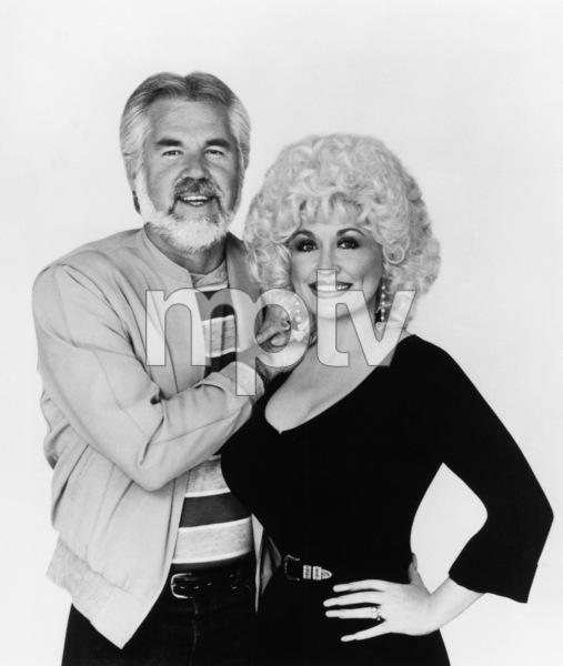"""Kenny Rogers and Dolly Parton Together""Kenny Rogers, Dolly Parton1985** I.V.M. - Image 10575_0072"