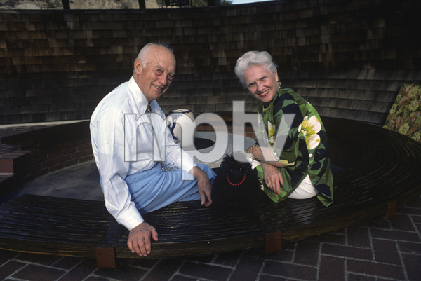 Walter Lantz and wife Grace Stafford 1976 © 1978 Ulvis Alberts - Image 10650_0017
