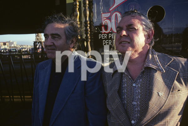 Jerry Siegel and Joe Shuster (creators of Superman character for the original comics) 1979 © 1979 Ulvis Alberts - Image 10674_0001
