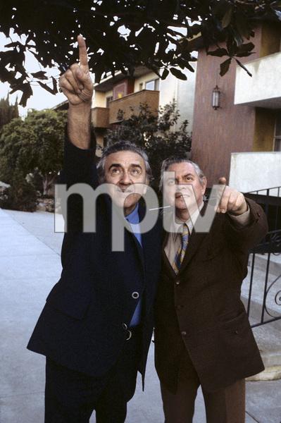 Jerry Siegel and Joe Shuster (creators of Superman character for the original comics)1979 © 1979 Ulvis Alberts - Image 10674_0002