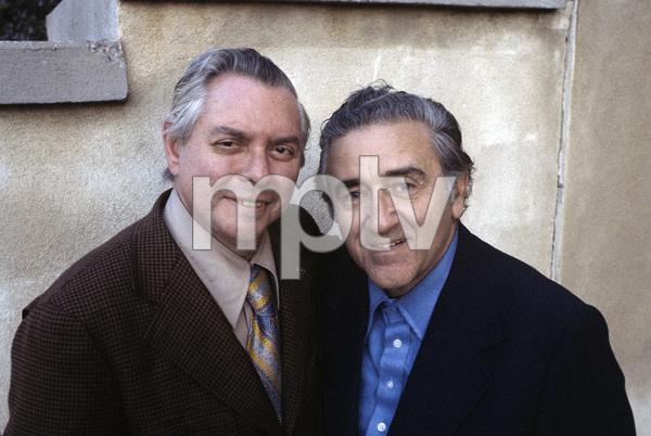 Jerry Siegel and Joe Shuster (creators of Superman character for the original comics)1979 © 1979 Ulvis Alberts - Image 10674_0005