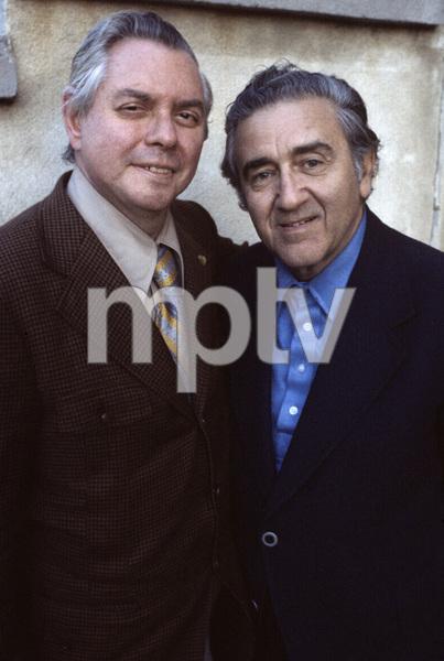 Jerry Siegel and Joe Shuster (creators of Superman character for the original comics) 1979 © 1979 Ulvis Alberts - Image 10674_0007