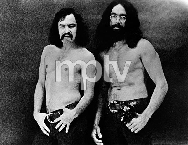 Cheech and Chong, early 70