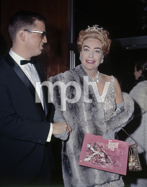 """Joan Crawford at the New York premiere of """"My Fair Lady"""" October 21, 1964Photo by Irv Steinberg** B.D.M. - Image 10706_0036"""