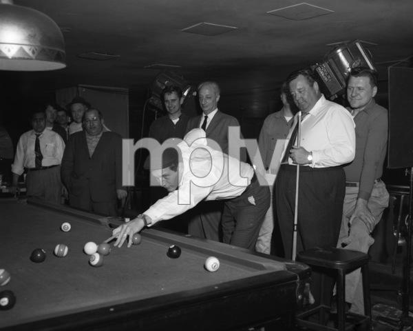 """The Hustler""Paul Newman, Jackie Gleason1961 20th Century Fox** I.V. - Image 10712_0014"
