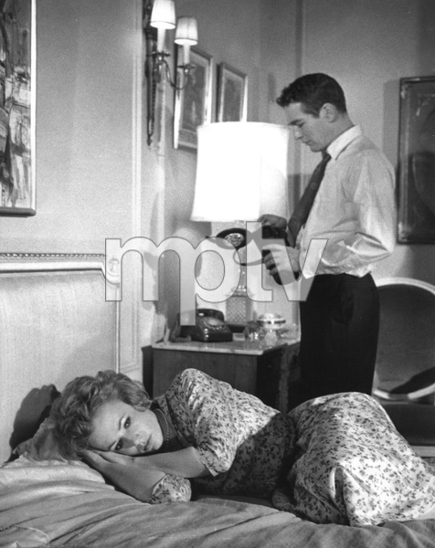 """""""The Hustler""""Piper Laurie, Paul Newman1961 20th Century Fox** I.V. - Image 10712_0021"""