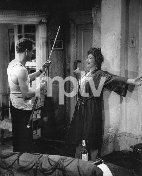 """The Hustler""Paul Newman, Piper Laurie1961 20th Century Fox** I.V. - Image 10712_0028"
