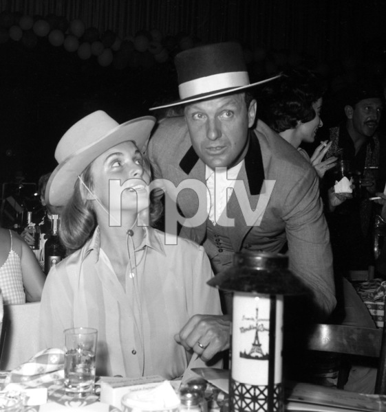 """Share Party""Rosemarie Stack, Robert Stack 1960 © 1978 David Sutton - Image 10730_0010"