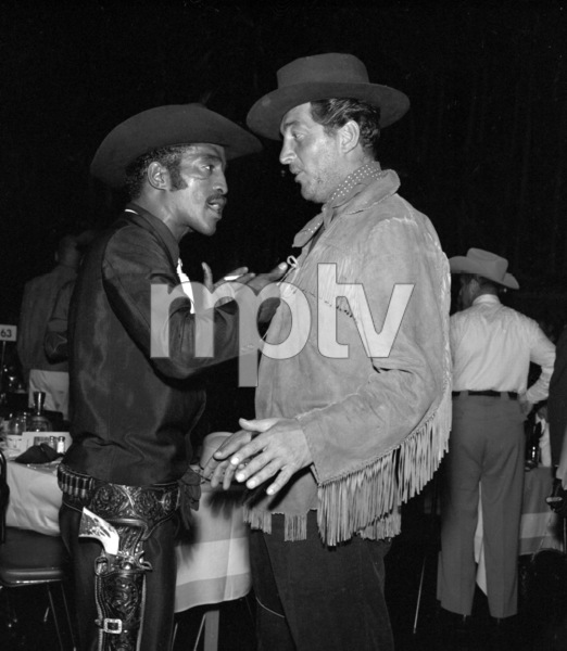 """Share Party""Sammy Davis Jr., Dean Martin1958 © 1978 Bernie Abramson - Image 10751_0004"
