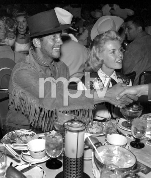 """Share Party""Dean Martin, Jeanne Martin1958 © 1978 Bernie Abramson - Image 10751_0009"