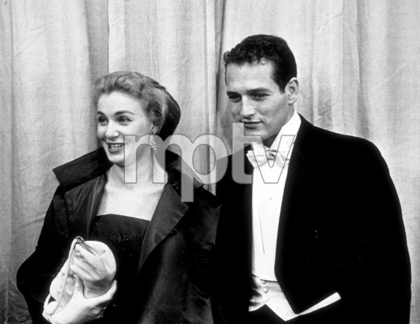 """""""The 30th Annual Academy Awards"""" Paul Newman, Joanne Woodward 1958 © 1978 Sid Avery - Image 10764_0023"""