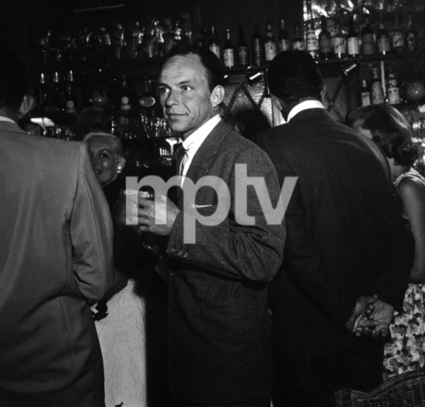 Frank Sinatra at the Villa Capri in Hollywood, California 1955 © 1978 Bernie Abramson - Image 10768_0006