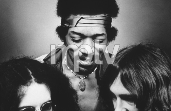 Jimi Hendrix Experience with bandmatesNoel Redding and Mitch Mitchell1969 © 1978 Ed Thrasher - Image 10778_0016