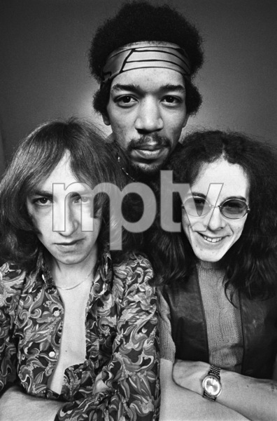 Jimi Hendrix, Mitch Mitchell and Noel Redding1969 © 1978 Ed Thrasher - Image 10778_0043