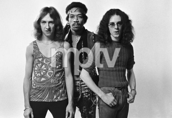 Jimi Hendrix, Mitch Mitchell and Noel Redding 1969 © 1978 Ed Thrasher - Image 10778_0045
