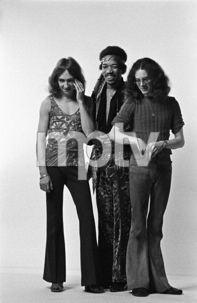 Jimi Hendrix, Mitch Mitchell and Noel Redding 1969 © 1978 Ed Thrasher - Image 10778_0048
