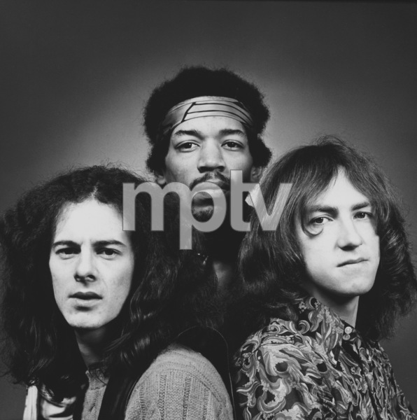 """Mitch"" Mitchell, Jimi Hendrix, Noel ReddingLos Angeles, 5/69. © 1978 Ed Thrasher - Image 10778_0101"