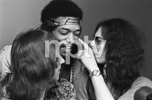 Jimi Hendrix, Mitch Mitchell and Noel Redding1969 © 1978 Ed Thrasher - Image 10778_041