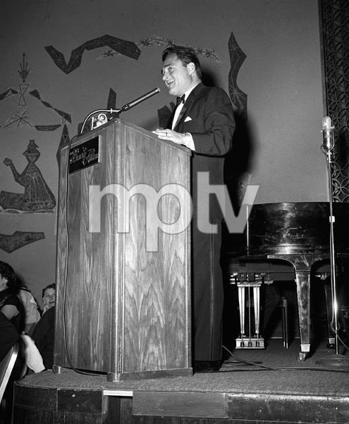 """Beverly Hilton Awards Dinner""Michael Todd1957 © 1978 Bernie Abramson - Image 10796_0008"