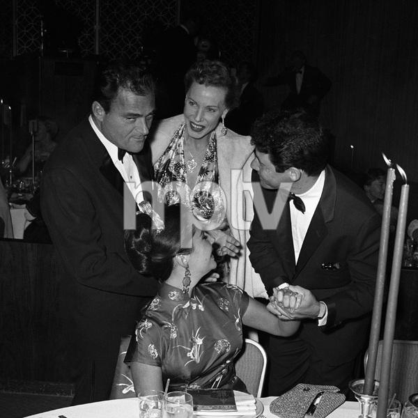 """Beverly Hilton Awards Dinner""Michael Todd, Elizabeth Taylor, Eddie Fisher1957 © 1978 Bernie Abramson - Image 10796_0012"