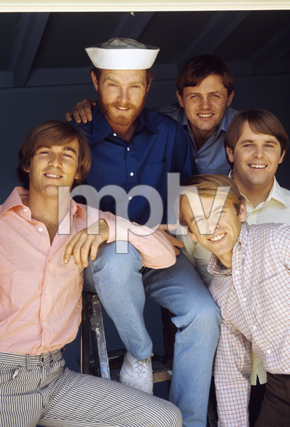 The Beach Boys (Mike Love, Al Jardine, Bruce Johnston, Carl Wilson, Dennis Wilson) circa 1966 © 1978 Gunther - Image 10841_0012