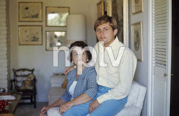 The Beach Boys (Bruce Johnston and Mrs. Myra Johnston) circa 1966 © 1978 Gunther - Image 10841_0108
