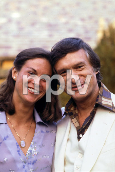 Hugh Hefner and daughter Christiec. 1976 © 1978 Gunther - Image 10869_0014
