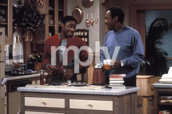 """The Cosby Show""Malcolm-Jamal Warner, Bill Cosbycirca 1991 © 1991 Gene Trindl - Image 10894_0036"