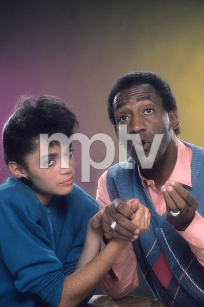 """The Cosby Show""Lisa Bonet, Bill Cosby © 1984 Mario Casilli - Image 10894_0040"