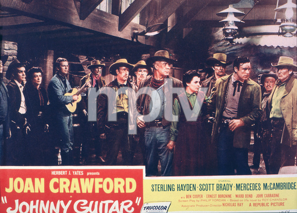 """Johnny Guitar""Lobby Card © 1954 Republic - Image 10911_0001"