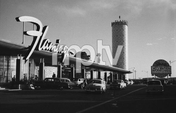 Las Vegasexterior of the Flamingo HotelMarch 1955 © 1978 David Sutton - Image 10954_0026