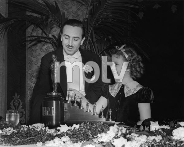 """The 9th Annual Academy Awards"" Walt Disney, Shirley Temple1937** I.V. - Image 11010_0005"