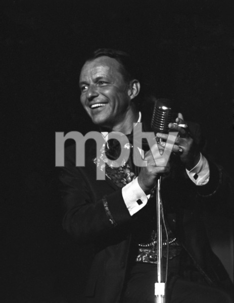 Frank Sinatra at a Share Party1963 © 1978 Chester Maydole - Image 11078_0009