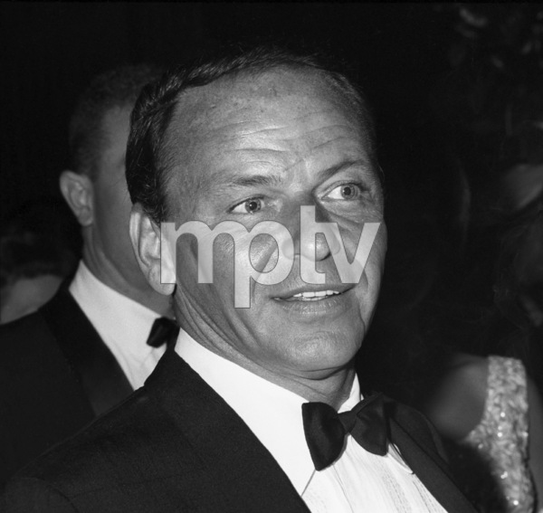 """Frank Sinatra at the premiere of """"Cleopatra""""1963 © 1978 Chester Maydole - Image 11078_0015"""