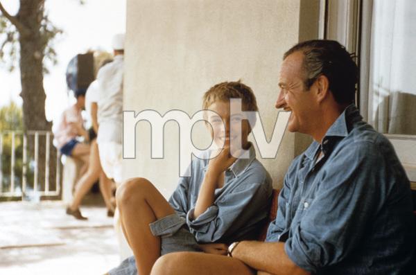 """Bonjour Tristesse""Jean Seberg, David Niven1957© 1978 Bob Willoughby - Image 11102_0004"