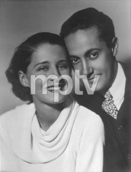 Norma Shearer & husband Irving ThalbergC.1934 - Image 1114_0822