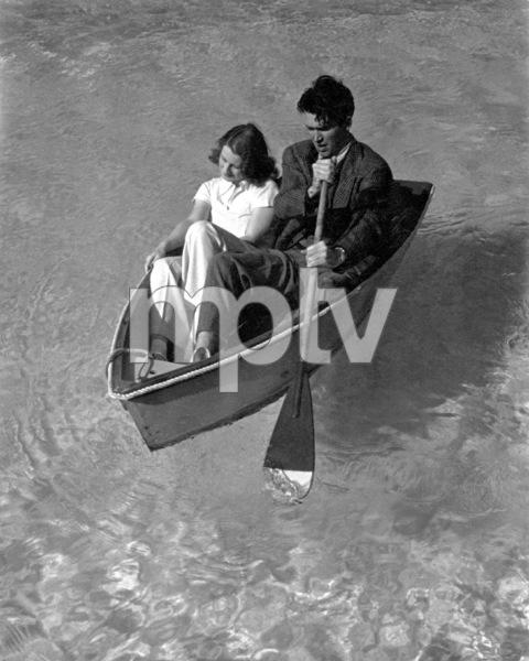 Norma Shearer, James Stewart1938Copyright John Swope Trust / MPTV - Image 1114_0987