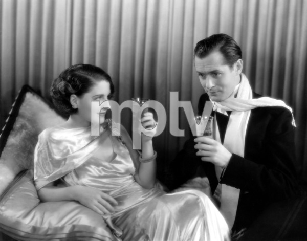 """Norma Shearer and Robert Montgomery in """"Strangers May Kiss"""" 1931 MGM** I.V. - Image 1114_1000"""