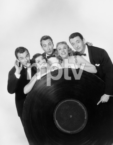 The Skylarks (Gilda Maiden, George Becker, Carol Lonibard, Earl Brown)1957 © 1978 Wallace Seawell - Image 11233_0003