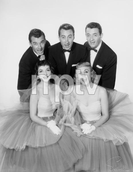 The Skylarks (Gilda Maiden, George Becker, Carol Lonibard, Earl Brown)1957 © 1978 Wallace Seawell - Image 11233_0004