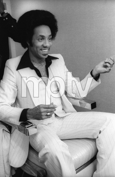 The Temptations in the Soul Train dressing room (Richard Street)circa 1978© 1978 Bobby Holland - Image 11308_0010