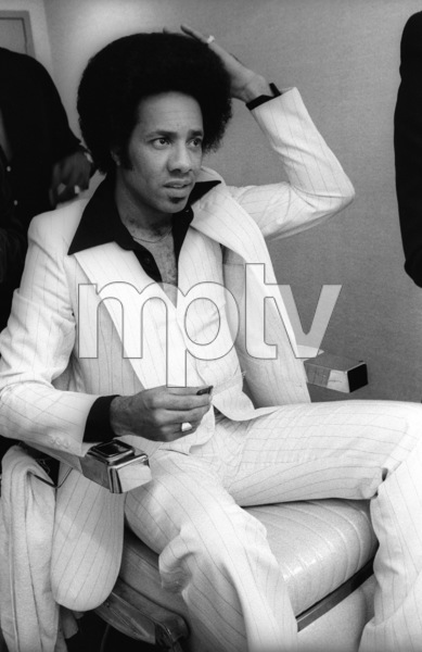 The Temptations in the Soul Train dressing room (Richard Street)circa 1978© 1978 Bobby Holland - Image 11308_0012