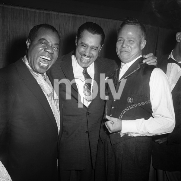 """""""Billy Daniels Party""""Louis Armstrong, Cab Calloway, Billy Daniels1955 © 1978 David Sutton - Image 1142_0001"""