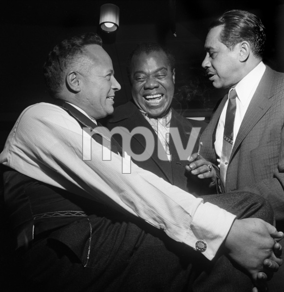 """""""Billy Daniels Party""""Louis Armstrong, Cab Calloway, Billy Daniels1955 © 1978 David Sutton - Image 1142_0002"""