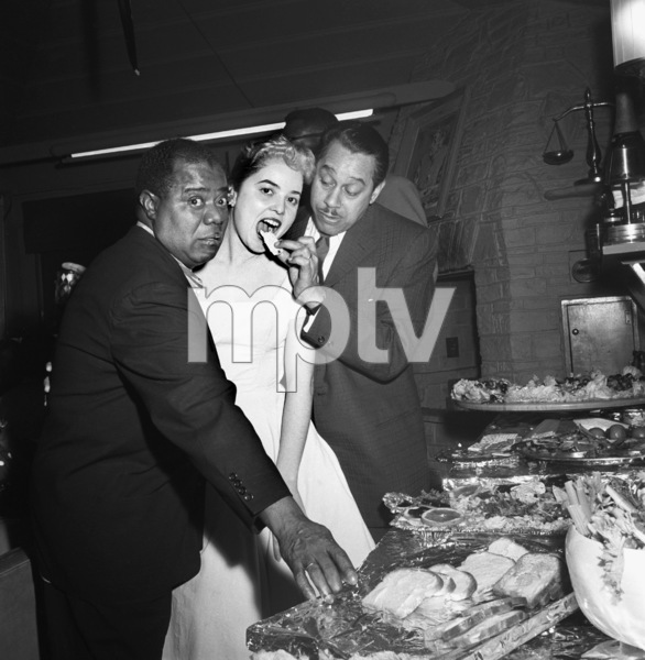 """""""Billy Daniels Party""""Louis Armstrong, Cab Calloway1955 © 1978 David Sutton - Image 1142_0003"""
