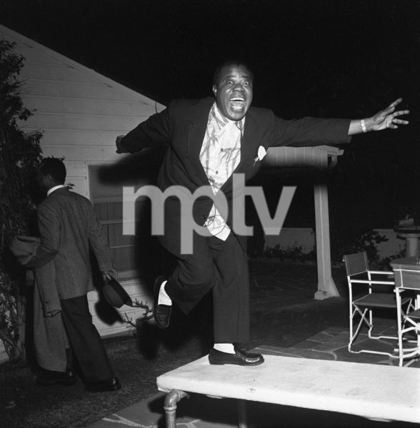"""""""Billy Daniels Party""""Louis Armstrong1955 © 1978 David Sutton - Image 1142_0005"""