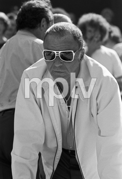 Frank Sinatra at a Los Angeles Dodgers World Series game1977 © 1978 Gunther - Image 11503_0007
