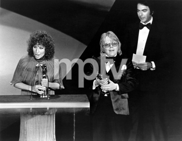 """The 49th Annual Academy Awards"" Barbra Streisand, Paul Williams, Neil Diamond 1977 - Image 11512_0039"