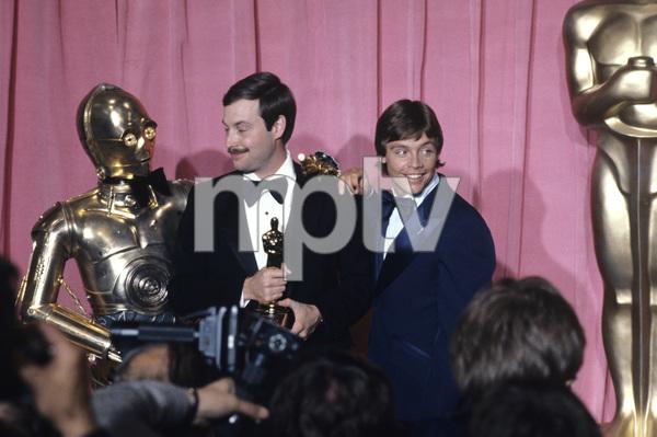 """The 50th Annual Academy Awards""C-3PO, Ben Burtt, Mark Hamill1978 © 1978 Gunther - Image 11513_0007"